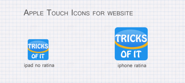 How to Add Apple Touch Icon to Website
