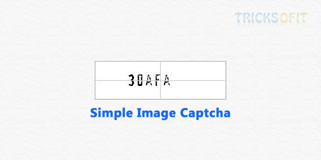 Generate and Implement Simple Captcha Code In PHP