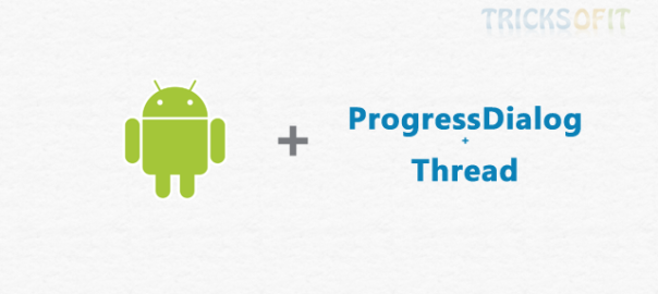 How To Use Progress Dialog Box In Android
