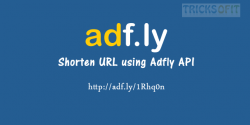 Shorten URL using Adfly API in PHP