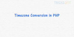 Timezone Conversion in PHP