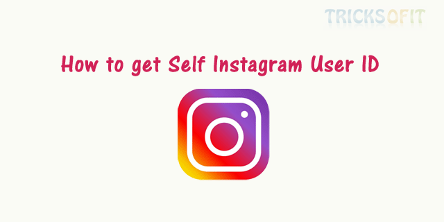 How to get Self Instagram User ID