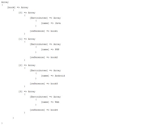 decode the json to get array